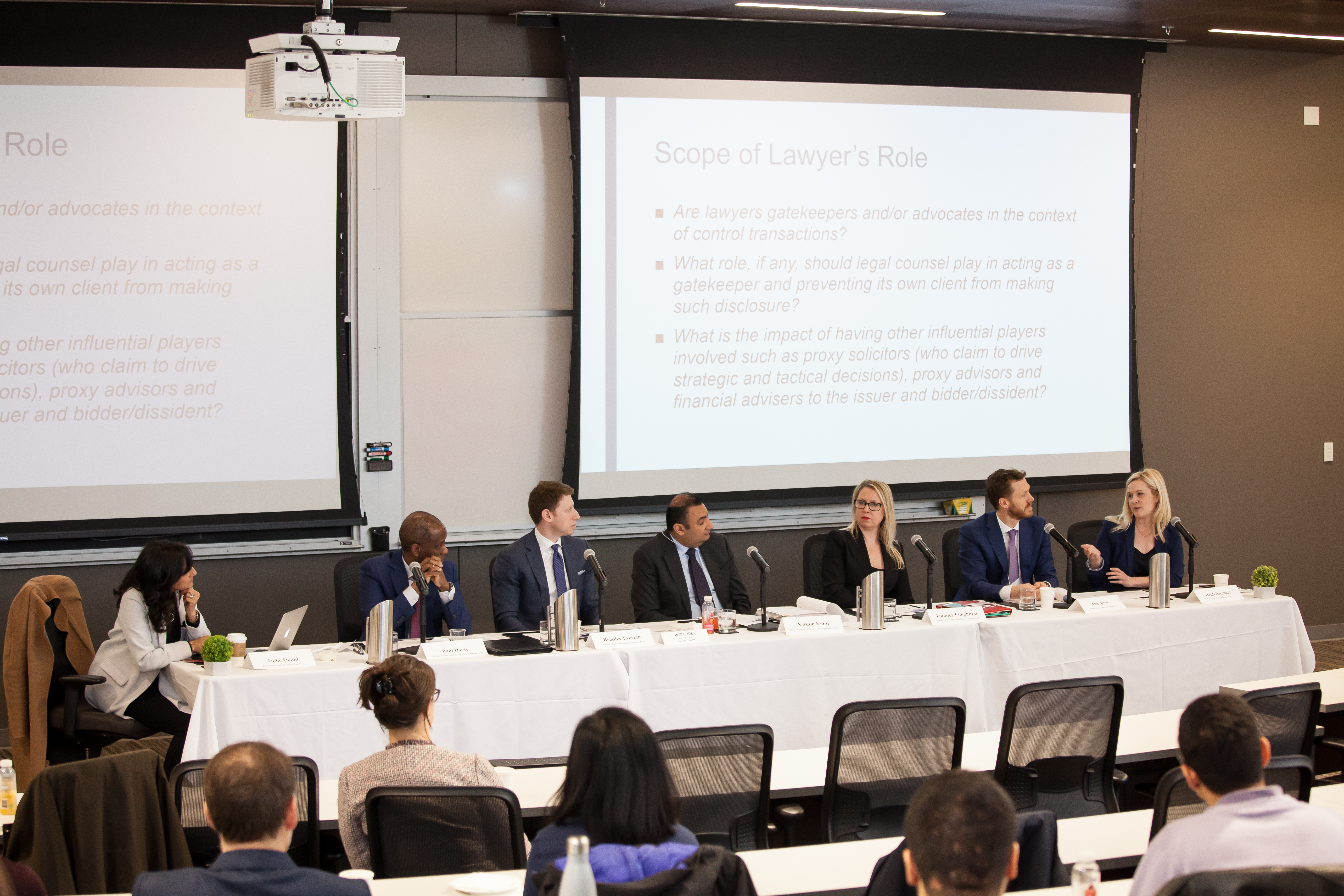 Panel on Lawyers' Duties in an Age of Shareholder Activism
